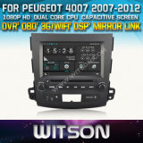 Witson Car DVD for Peugeot 4007 2007-2012