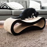 Pet Cat Corrugated Paper Scratcher Cat Scratching Board Kitten Cardboard Interactive Toy