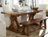 Solid Wood Vintage Loft Table with Popular
