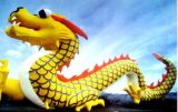 True to Life Inflatable Cartoon Dragon Model (CT-019)