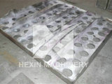 Tube Sheet Castings for Refinery Heater Made by Static Sand Casting with Cobalt Nickel Alloy Hx61041