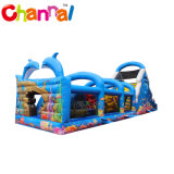 Longest Inflatable Obstacle Course Ocean Theme Inflatable Obstacle