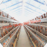 Prefabricated Steel Frame Structure Prefab Chicken House in Poultry Farms