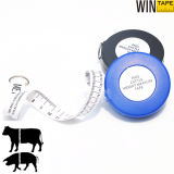 250cm Promotional Funtional Cattle Weight Tape Measure Eco-Friendly Fabric Professional Gifts with OEM Service