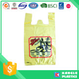 Manufacturer Price Plastic Vest Bag with You Own Logo