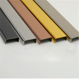 Stainless Steel Trim Profile Decorative Strips, Corner Guards, Inlay for Wall and Floor