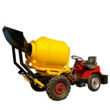 Gt80 Hydraulic Transmission Self Loading Mobile Concrete Mixer/ Cement Blender/Easy Operate Mixer/Small Cost Construction Mixer