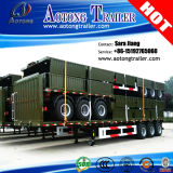 3axle 40FT Stake/Cargo Semi Trailer (with twist locks carry container)