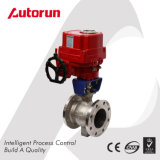 V Type Ball Valve with Electric Actuator