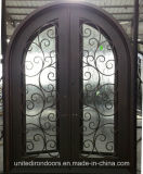Factory Direct Round Top Iron Door (UID-D033)