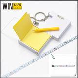 Custom Steel Tape Measure Mini Spirit Level with Note (NTM-001)