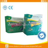 Cloth Material and Breathable Feature Sunny Girls Sanitary Napkins