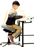 Adjustable Height Kids Study Chair for Home Furniture (KC-1319)