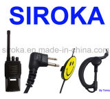 G Style Smile Face Walkie Talkie Earphone for Motorola