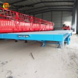 Chengda Brand Used for 20 FT 40 FT Container Flatbed Trailer 3 Axle Twist Lock for Lowtbed Trailer