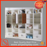 High Quality Portable Backdrop MDF Wall Display Cabinet for Store