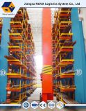 Heavy Duty Double Side Cantilever Racking with High Density
