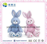 Popular Easter Gift 2 Colors Plush Easter Bunnies Toy
