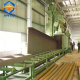Qingdao Antai Shot Blasting Machine with Roller Conveyor