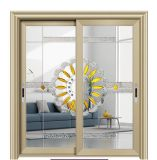 Good Heat&Sound Insulation Aluminum Sliding Door with Designed Glass