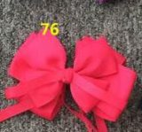 Bowknot Fashion Decorative Metal Silver Hairpins for Children 76