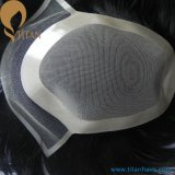 Wholesale 10A Grade Human Hair Men's Lace Wig