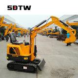 Cheap New Type Mini Digger 1 Ton Excavator New Small Excavator Price