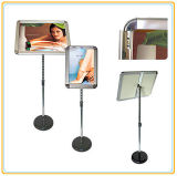 Height-Adjustable A4 Poster Stand/Telescopic Ad Poster Holder