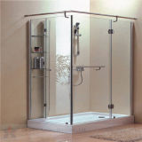 Tempered Glass Door Used in Bathroom