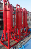 Oilfield Equipment H2s Mud Liquid Gas Separator / Poor Boy Degasser