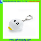 Promotion Gift Personal Alarm Protector with Key Ring Flashing Support OEM Logo