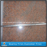 India Multicolor Red Granite for Flooring Tiles Paving Countertops
