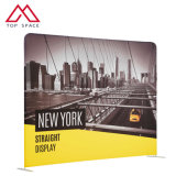 Advertising Straight Event Exhibition Curved Backdrop Banner Stand