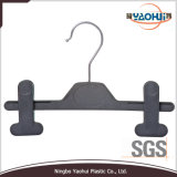 Plastic Pants Hanger with Metal Hook for Display (4511-22)