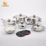 Cheap Wide Edge 16PCS Stainless Steel Cookware in Home Appliance