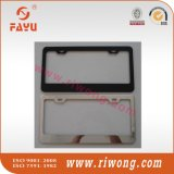 Metal License Plate Frame Gold
