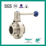 Stainless Steel SS304 Double-Face Manual Butterfly Valves