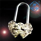 Yh1027 Chinese Mandarin Duck Love Brass Padlock for Pendant