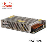Smun S-180-15 180W 15VDC 12A Switching Security Power Supply