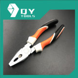 High Quality Carbon Steel Combination Pliers with Three Colors TPR Handle
