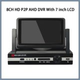 8CH HD P2P AHD DVR with 7 Inch LCD