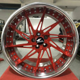 Aluminum Forged Alloy Car Two-Pieces Wheels Color Customizable