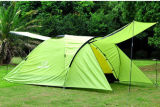 Outdoor Camping Tent with PU 3000mm/Cm2 Water-Proof