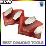 HTC Diamond Concrete Grinding Pad Polishing Tools for Concrete Terrazo Surface Restoration and Polishing