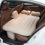 Car Travel Inflatable Mattress Air Bed Cushion Camping Air Couch with Two Air Pillows