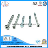 Flat Head Cup Head Bolts Zinc Plated with High Quality