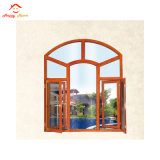 Aluminum Alloy About All Kinds of Wooden Grain Glass Windows