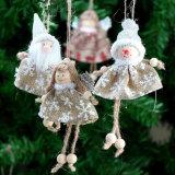 Fopcc Cute Angel Plush Doll Pendant Creative Christmas Tree