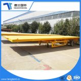 Truck Transport 3 Axle 20FT 40FT Flatbed Container Semi Trailer for Transportation
