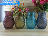 Wholesale High Quality Colorful Glass Vase Without Handle